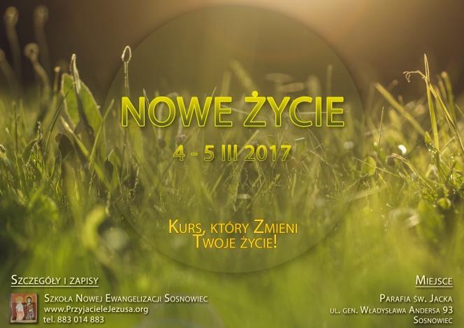 Kurs Nowe Życie – marzec2017