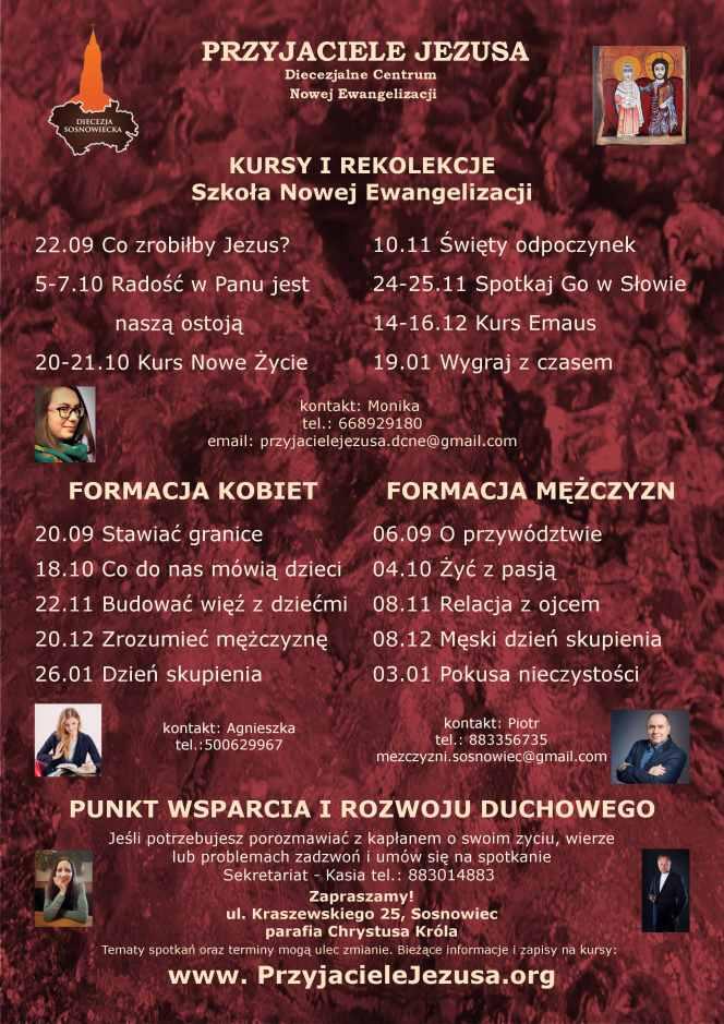 """Nowy rok formacyjny u """"PrzyjaciółJezusa"""""""